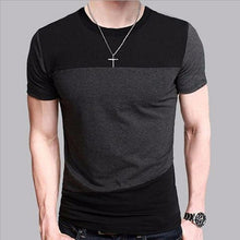 Men Slim Fit Crew Neck T-shirt