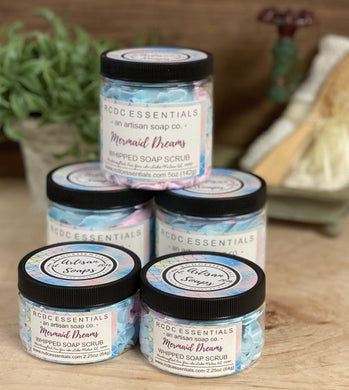Mermaid Dreams~ Whipped Soap Sugar Scrub