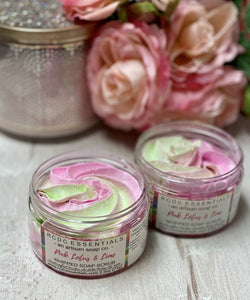 Pink Lotus & Lime ~ Whipped Soap Sugar Scrub