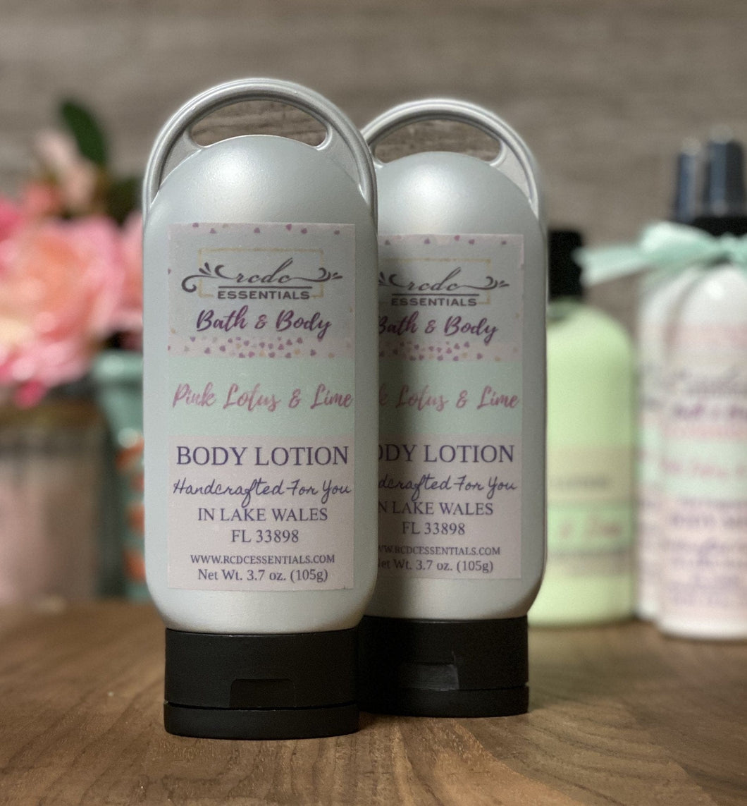 Pink Lotus & Lime ~Body Lotion