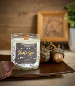 Strudel & Spice ~ Natural Hand Poured Soy Candle