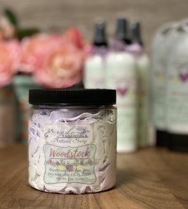 Woodstock ~ Whipped Soap Sugar Scrub
