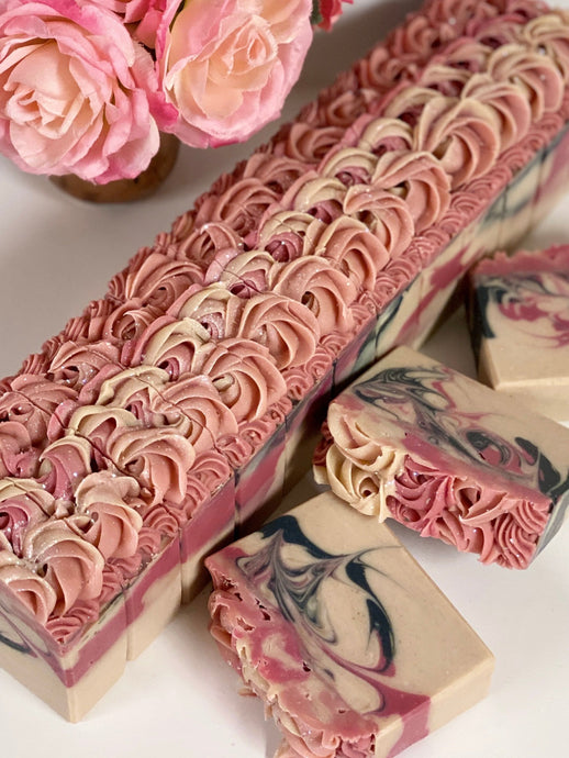 Blushing Orchids ~ Natural Handmade Cold Process Soap