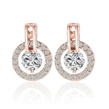 Classic Luxury Halo Earrings