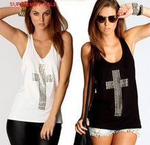 Diamond Cross Women Tank Top