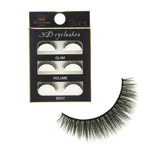 Super Thick 3D Cross False Eye Lash Extension