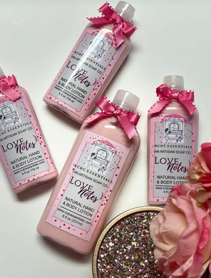 Love Notes ~Natural Hand & Body Lotion