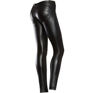 Women Faux Leather Jeggings