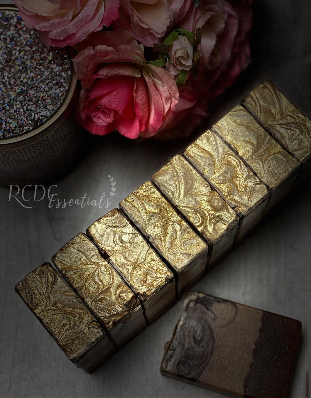 Frankincense & Myrrh Infused ~ Cold Process Soap