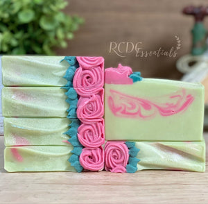 Roses For Life ~ Handmade Cold Process Soap
