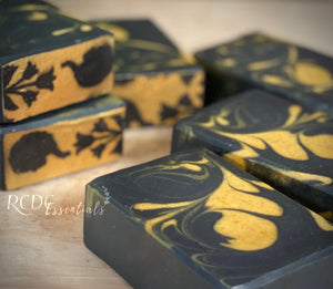 Dark Knight ~ Triple Milk Cold Process Soap