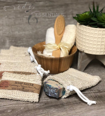 Soap Saver~ Exfoliating Natural Sisal Pouch