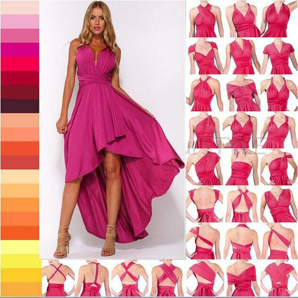 24 Ways Multi-Wear Convertible Maxi Dress