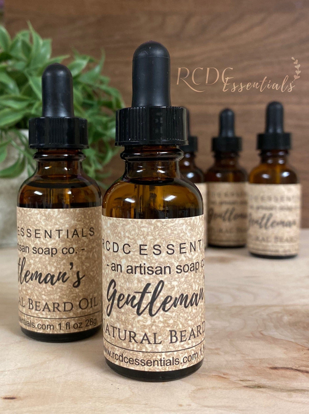 Gentleman's Hair & Beard Oil