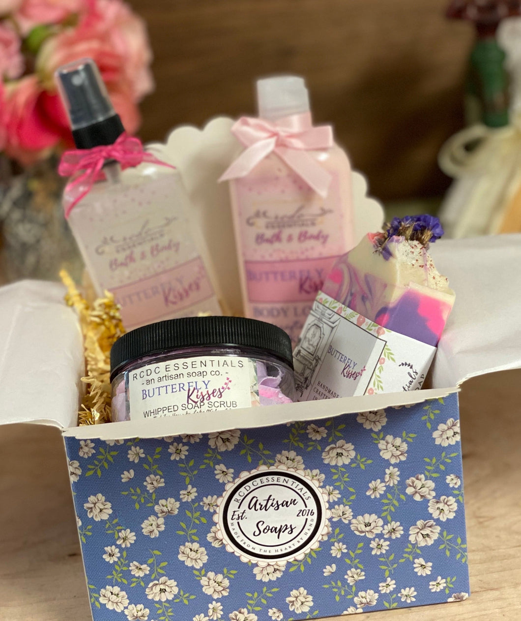 Butterfly Kisses ~ Gift Set