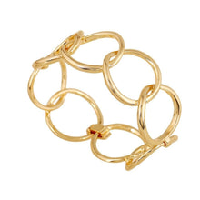 Blair 18k Gold plated link bracelet