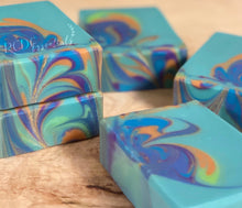 Peacock Feathers ~ Handmade Cold Process Soap