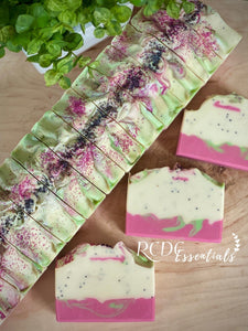 Dragon Pear & Poppy ~ Handmade Cold Process Soap