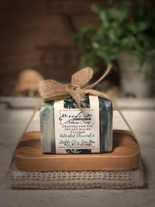 Charcoal & Zeolite Clay Detox Spa Soap  Gift Set