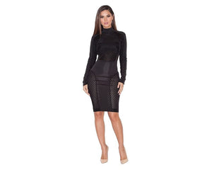 Rock Your Curves Bodycon Dress