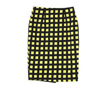 Dana Plaid Pencil Skirt
