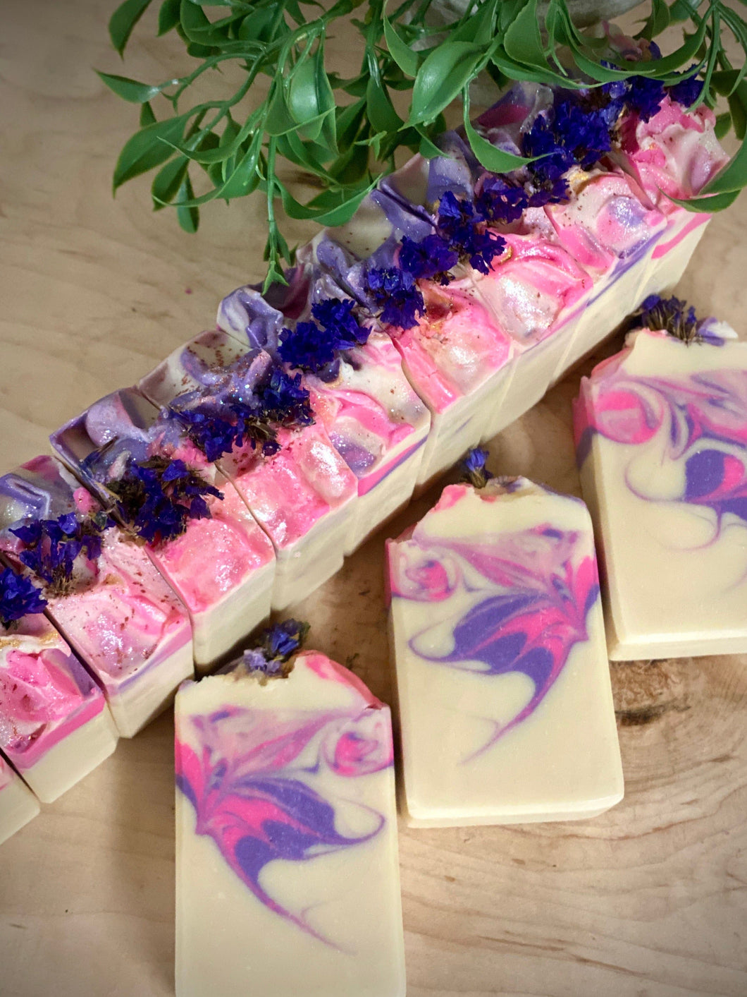 Butterfly Kisses ~ Handmade Cold Process Soap