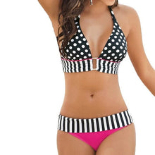 Retro Dotted Brazilian Bikini Set