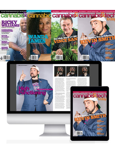 Cannabis & Tech Today 1 Year Print & Digital Subscription