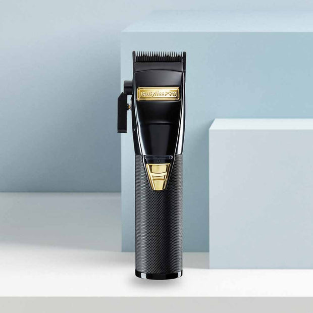 *LIMITIERT* Babyliss PRO 4Artists | Clipper BLACKFX [black & gold] INKL. GRATIS KAMM