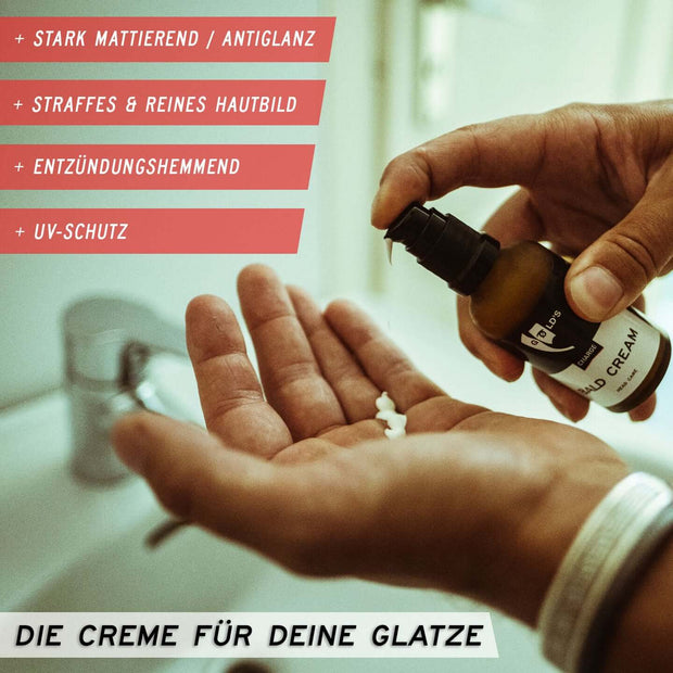Glatzencreme | Bald Cream 50ml Head Care by GØLD's