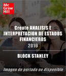 Create ANALISIS E INTERPRETACION DE ESTADOS FINANCIEROS