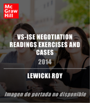 VS-ISE NEGOTIATION READINGS EXERCISES AND CASES