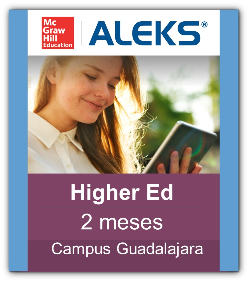 Aleks Higher Ed 2 Meses
