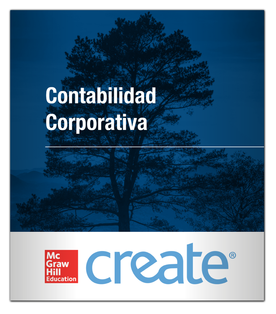 Create: Contabilidad Corporativa 9781308747514 McGraw-Hill
