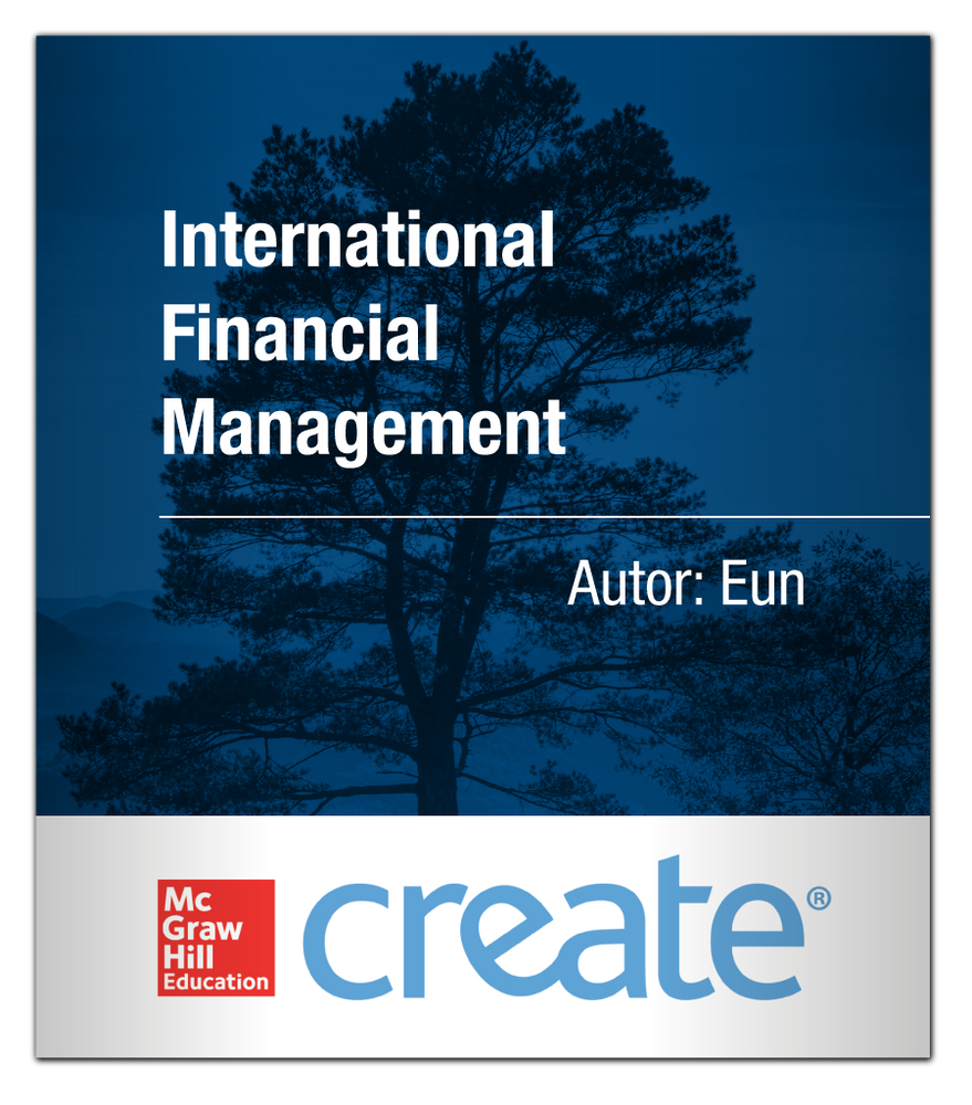 Create: International Financial Management Eun 9781121692985 McGraw-Hill