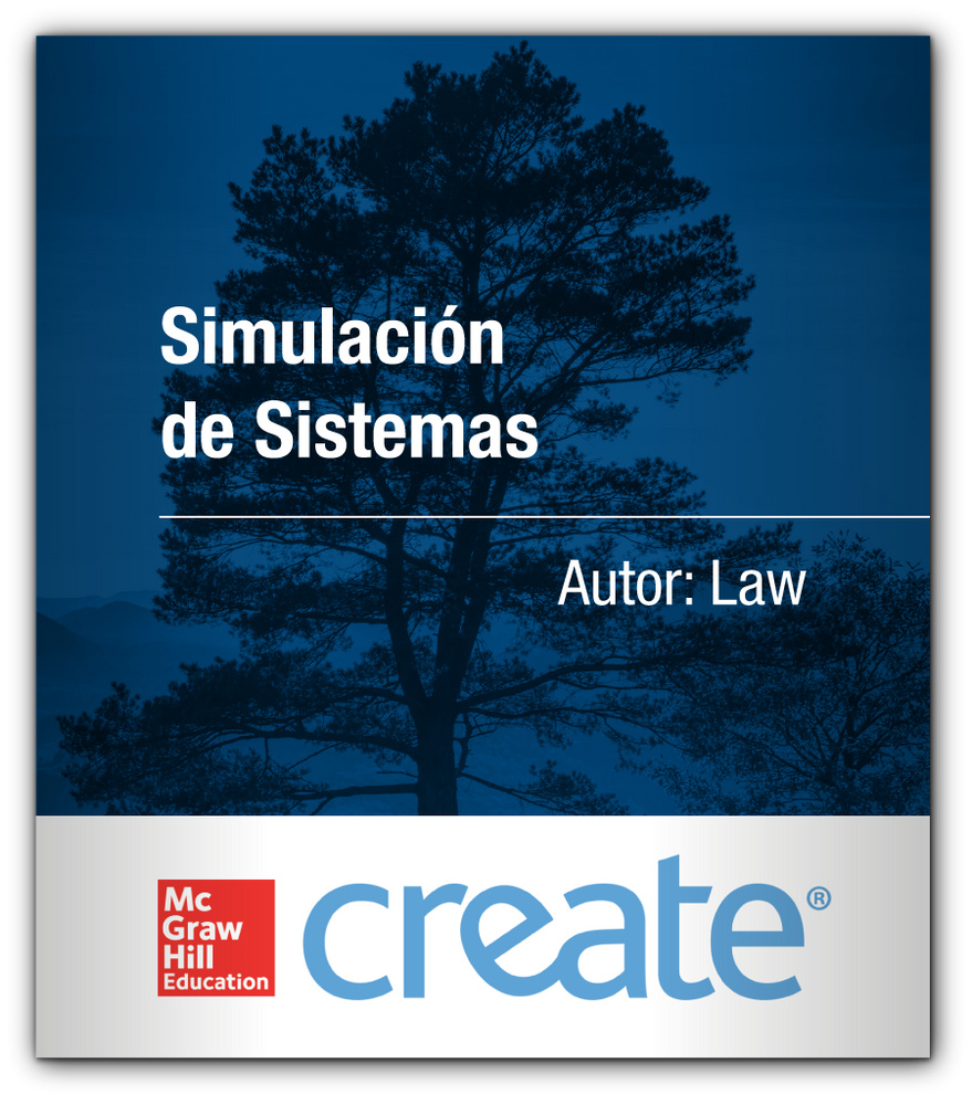 Create: Simulación de Sistemas LAW McGraw-Hill 9781308607467 ITAM