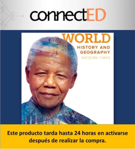 ConnectED World History and Geography (2018) Prepa Tec de Monterrey Campus Valle Alto