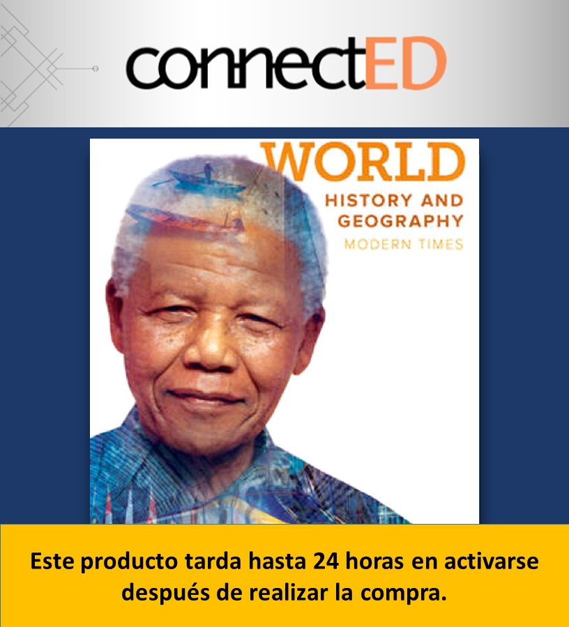 ConnectED World History and Geography (2018) (Prepa Tec Metepec)