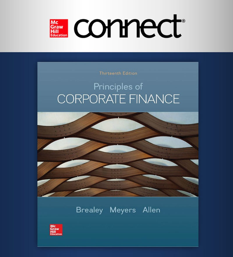 Connect. Principles of Corporate Finance 13e (12 meses) (ITAM)