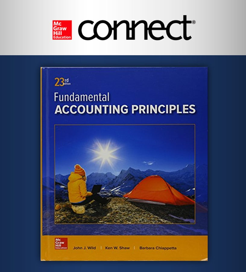 Connect Online Access For Fundamental Accounting Principles (UDEM)