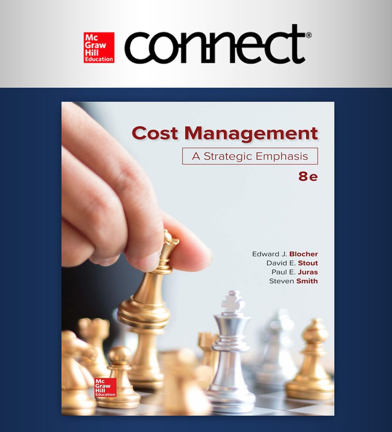 Connect. Cost Management: A Strategic Emphasis 8e (18 meses) (ITAM)