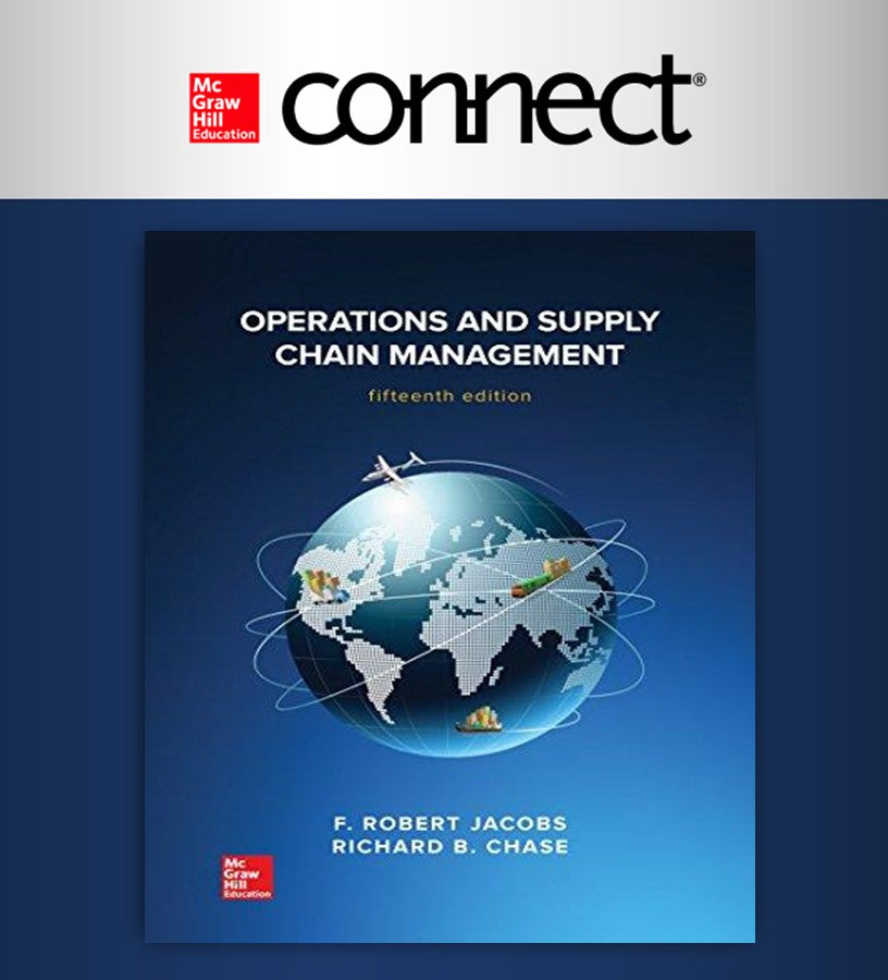 Connect Online Access for Operations and Supply Chain Management 15Ed.