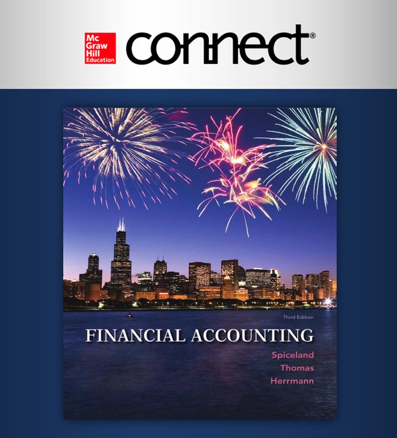 Connect Online Access for Financial Accounting 1 semester (ITAM)