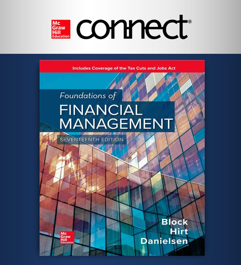 Connect  Online Access For Foundations Of Financial Management (UDEM)