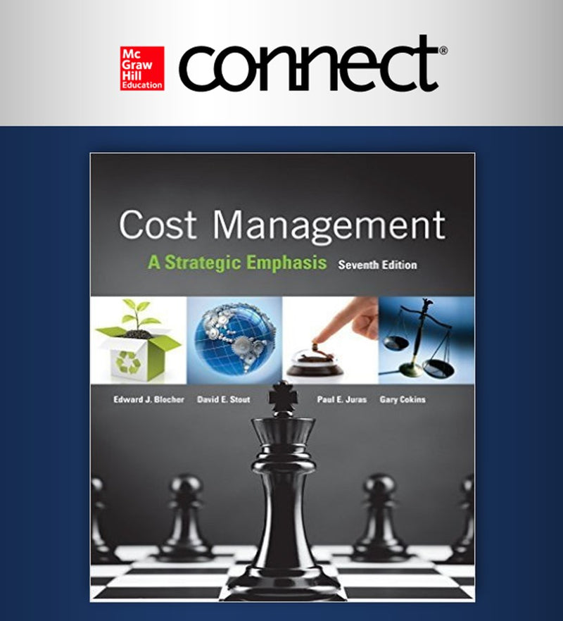 Connect. Cost Management: A Strategic Emphasis 7e (6 meses) (ITAM)