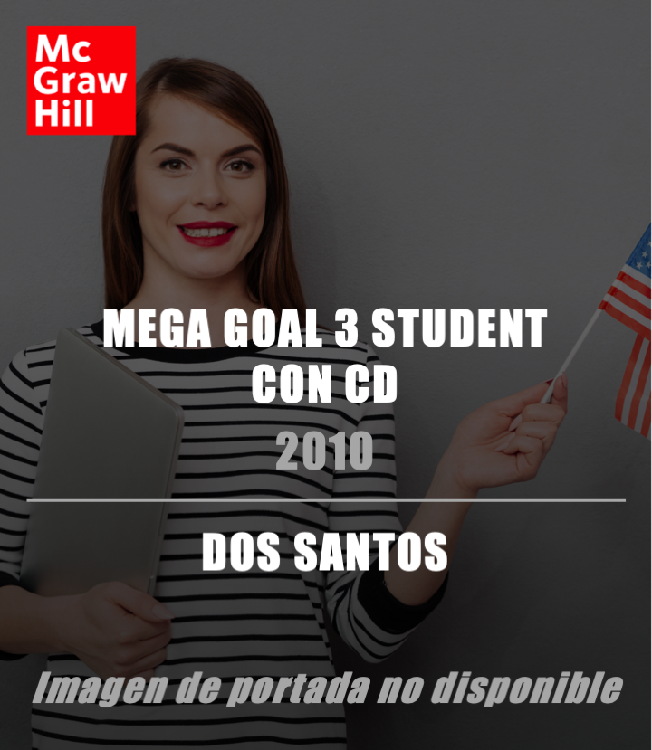 VS-MEGA GOAL 3 STUDENT BOOK CON CD