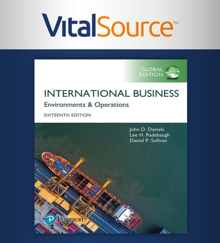 International Business, Global Edition (Renta por 6 meses) CANVAS