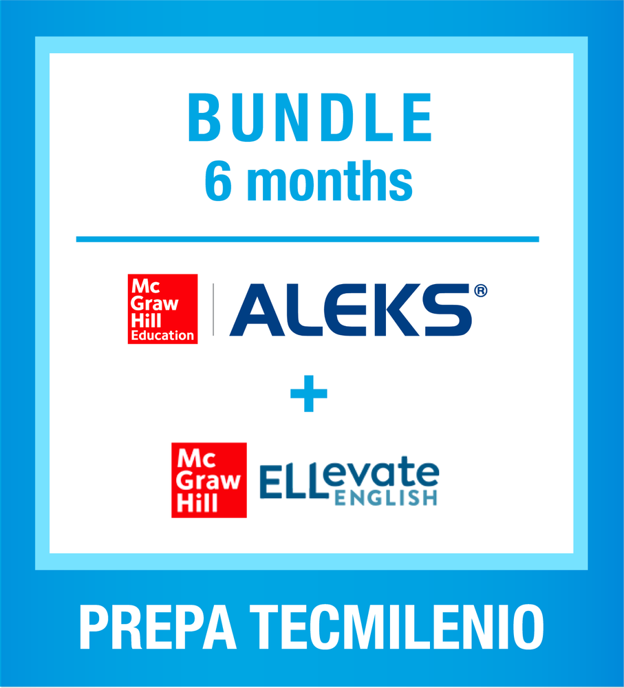 Bundle ELLevate + Aleks 6 meses