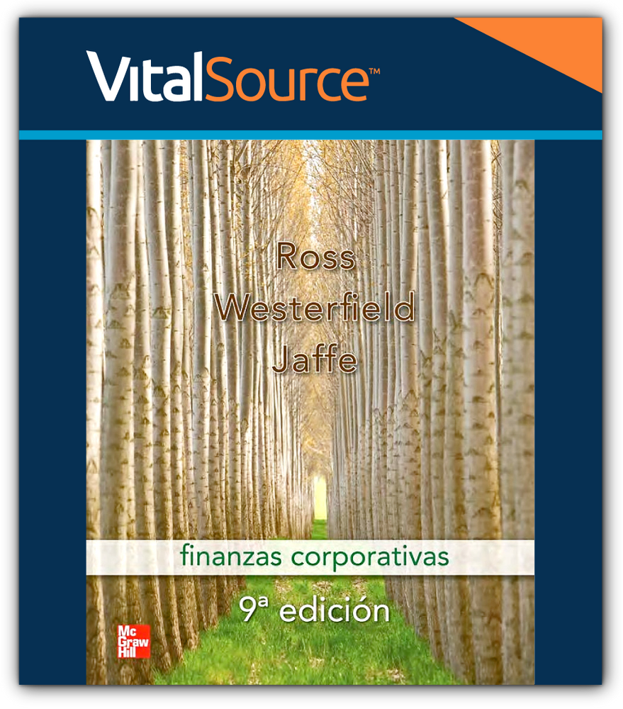 Vs-Ebook Finanzas Corporativas Stephen A. Ross, Randolph W. Westerfield, Jeffrey F. Jaffe McGraw-Hill 9781456205874