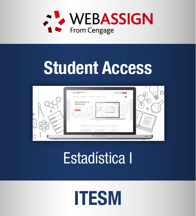 Enhanced WebAssign 12 meses (Estadística I: Itesm)
